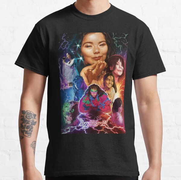 Björk Illustrated Poster Classic T-Shirt