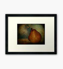 Red Williams Pear - Still Life Framed Print