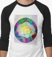 Rainbow rose Men's Baseball ¾ T-Shirt
