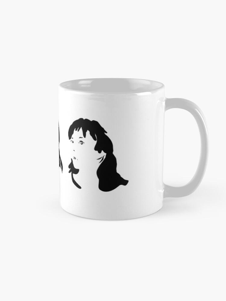 Alternate view of Triptych 3 faces (classic mug) Mug