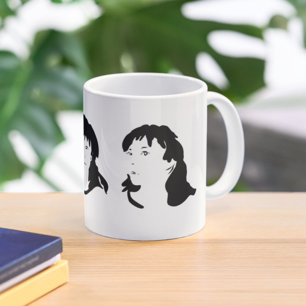 Triptych 3 faces (classic mug) Mug