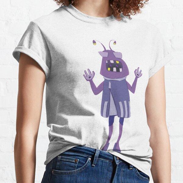 Alien on a Crumbling Planet Classic T-Shirt