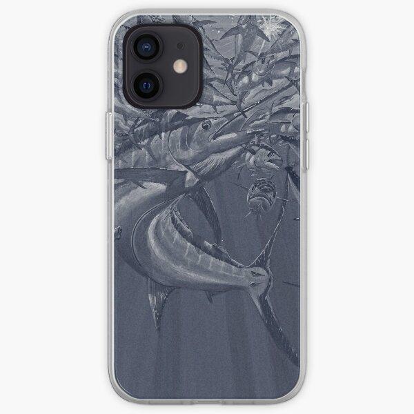 Blue marlin Tuna iPhone Soft Case