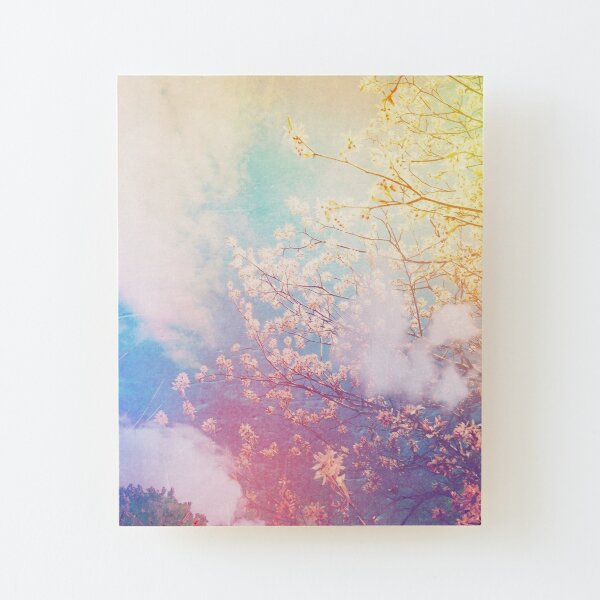 springtime dreaming Wood Mounted Print
