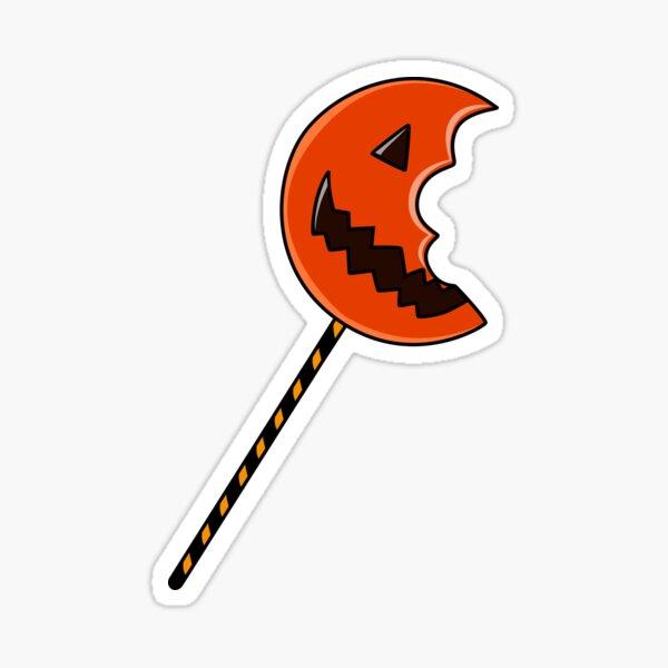 Trick R Treat Lollipop  Sticker