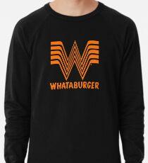Whataburger Fast Food Restaurant logo Lightweight Sweatshirt