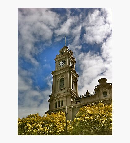 Old Geelong Post Office Photographic Print