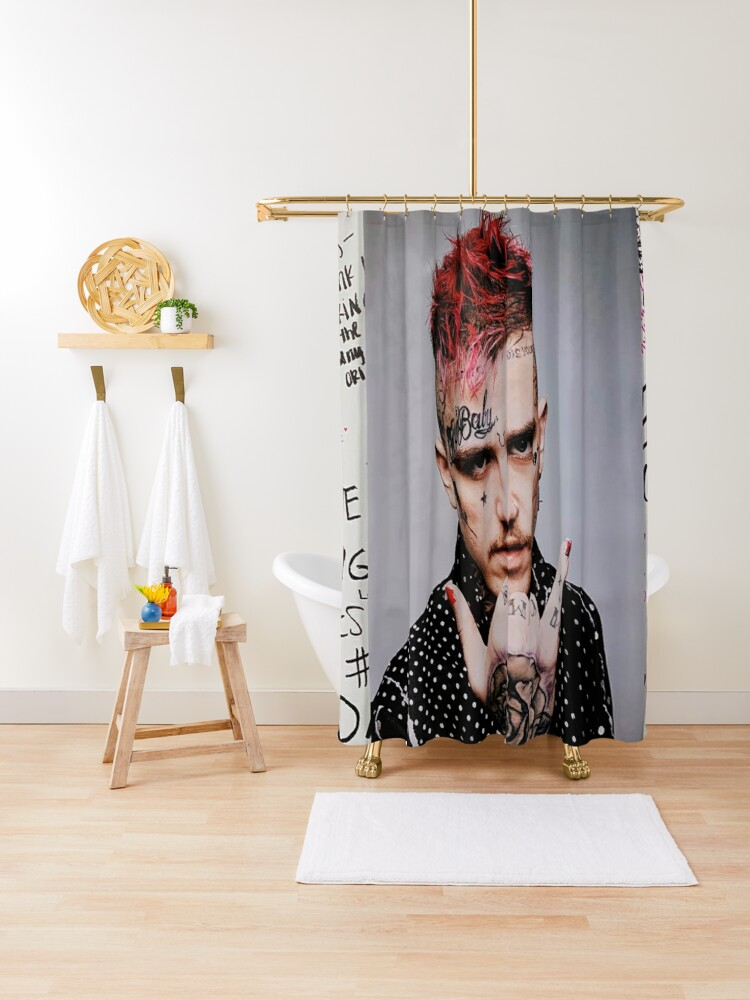 Lil Peep Collage Shower Curtain By Brendamartin02 Redbubble