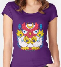 Oyasumi Women's Fitted Scoop T-Shirt