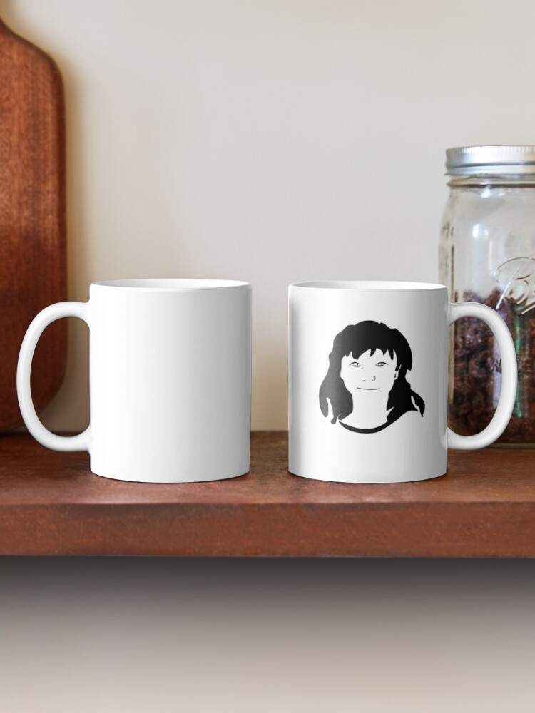 Alternate view of Triptych centre face (classic mug) Mug