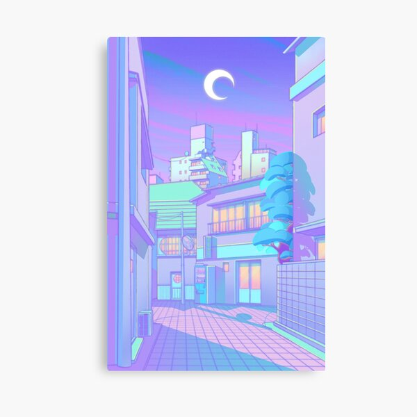 Night in Utopia Canvas Print