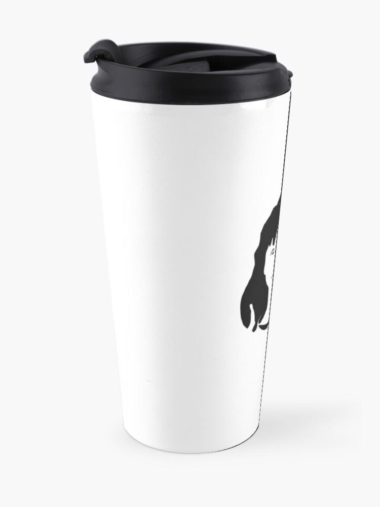 Alternate view of Triptych centre face (travel mug) Travel Mug