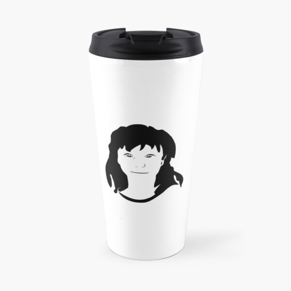 Triptych centre face (travel mug) Travel Mug