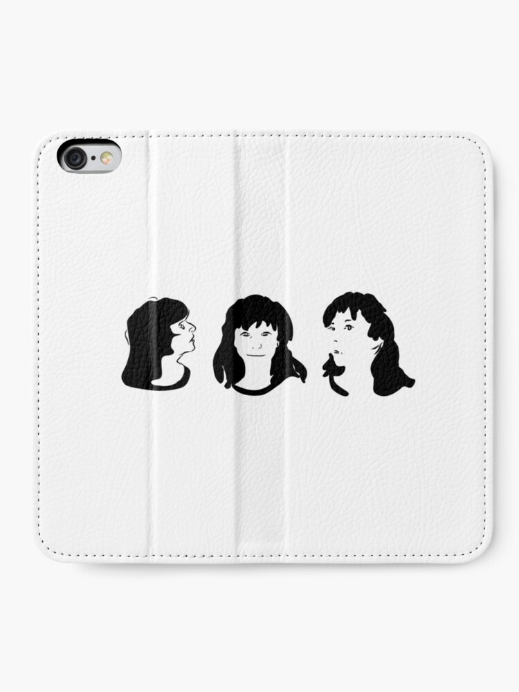 Alternate view of Triptych 3 faces (iPhone 6 wallet) iPhone Wallet