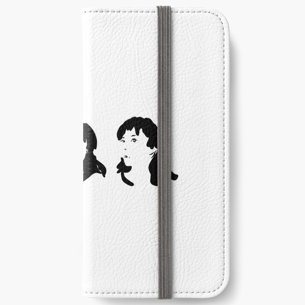 Triptych 3 faces (iPhone 6 wallet) iPhone Wallet