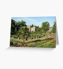 Sunken Garden Greeting Card