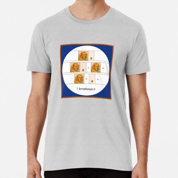 """Golden Math Puzzle"" Premium T-Shirt"
