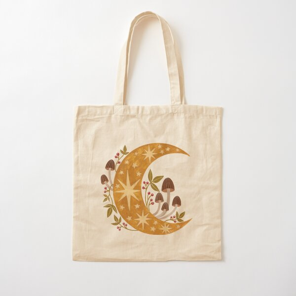 Forest moon Cotton Tote Bag