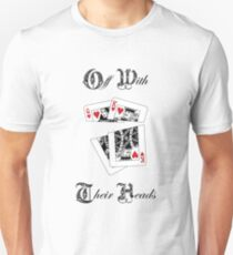 Royal Wedding - Off With Their Heads T-Shirt