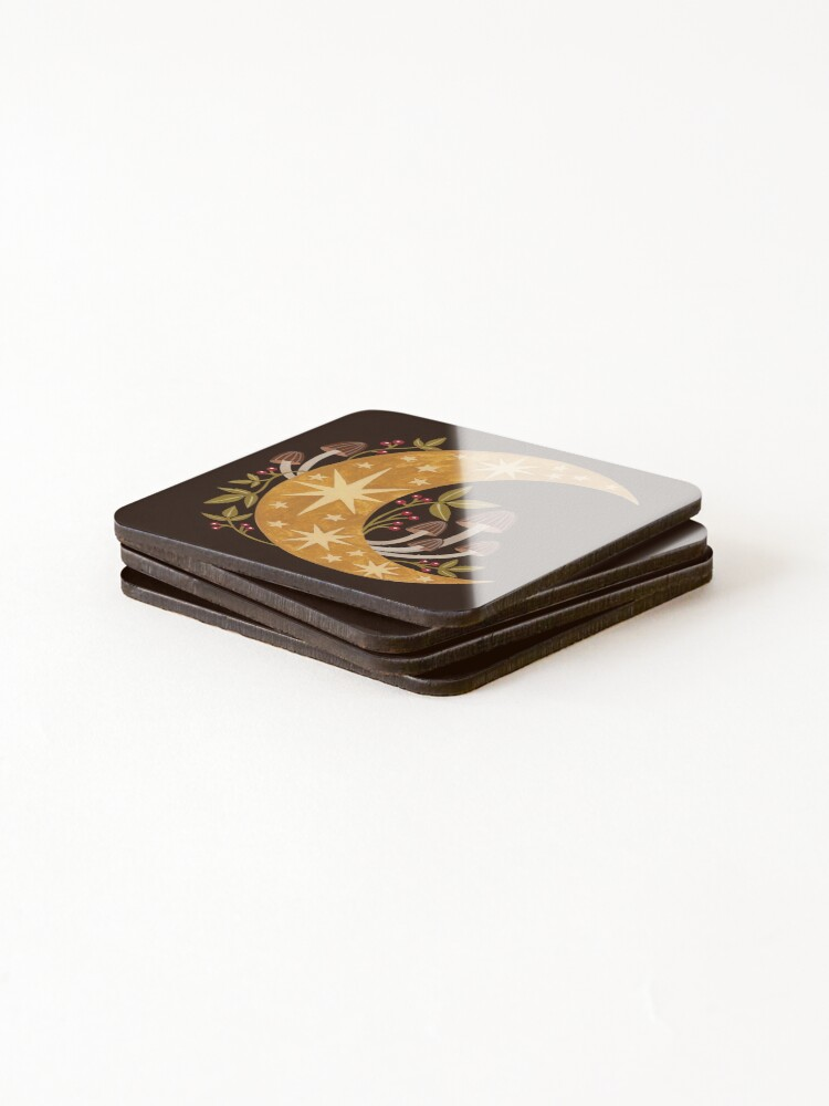 Alternate view of Forest moon Coasters (Set of 4)