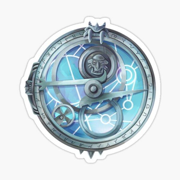 Amuleto de luz del día Pegatina