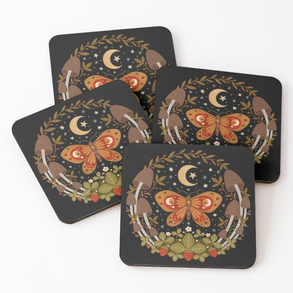 The king of tiny kingdoms Coasters (Set of 4)