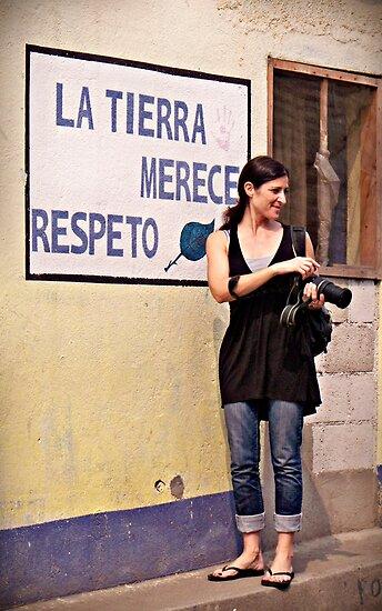 """La Tierra Merece Respeto"" (In Honor of Earth Day 2011) by Valerie Rosen"
