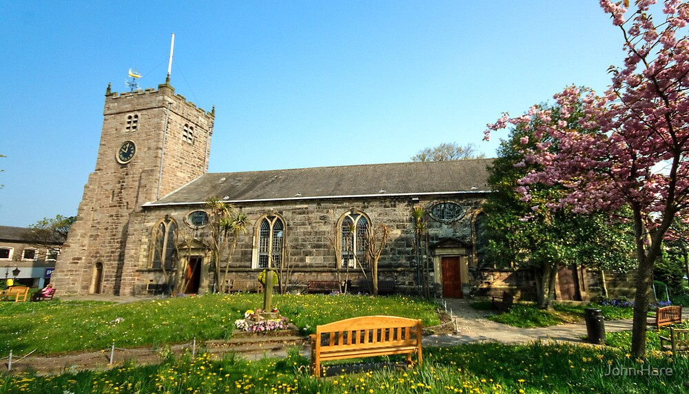 St Chad's Church and Church Yard Poulton Le Fylde by John Hare