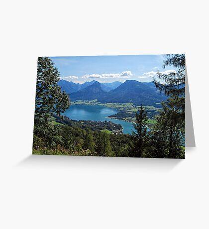 Wolfgangsee Greeting Card