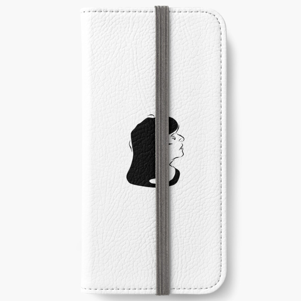 Triptych left face (iPhone 6s wallet) iPhone Wallet