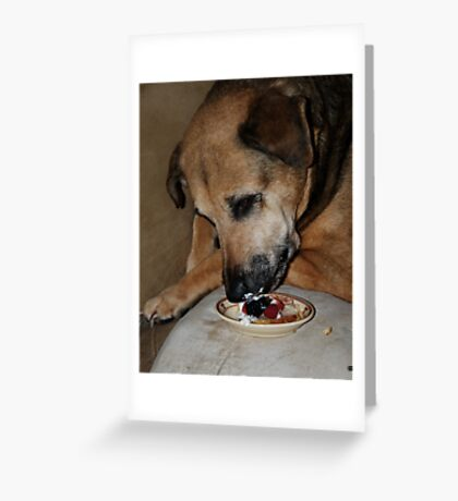 Shortcake Greeting Card