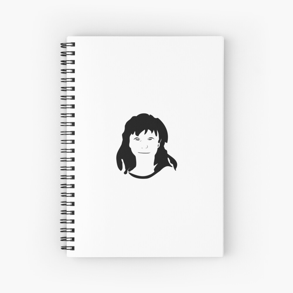 Triptych centre face (spiral notebook) Spiral Notebook