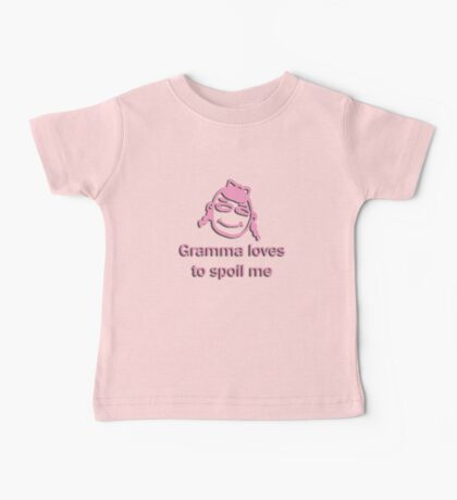 gramma spoils - pink Kids Clothes