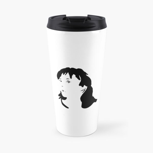 Triptych right face (travel mug) Travel Mug