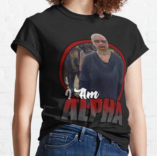 I Am Alpha The Walking Dead Classic T-Shirt