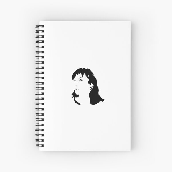 Triptych right face (spiral notebook) Spiral Notebook