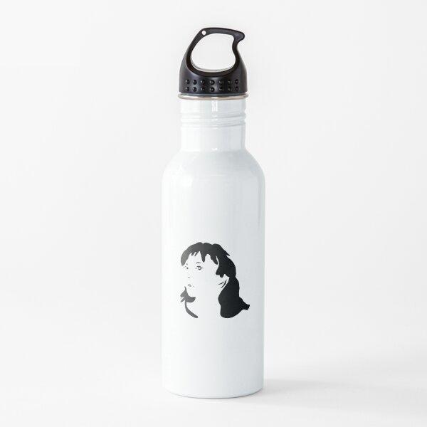 Triptych right face (water bottle) Water Bottle