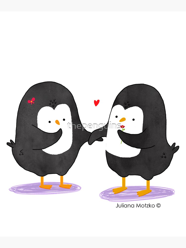 Lovely Penguin Couple by thepenguins