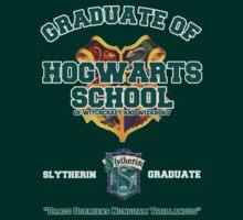 Graduate of Hogwarts School - Slytherin