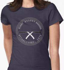 Fleet Steet Barber Womens Fitted T-Shirt