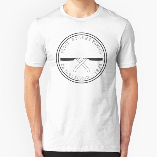 Fleet Steet Barber Slim Fit T-Shirt