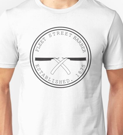 Fleet Steet Barber Unisex T-Shirt