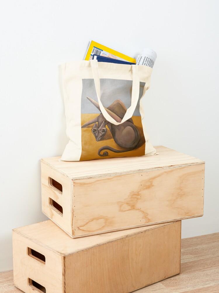 Alternate view of Cat Bath Tote Bag