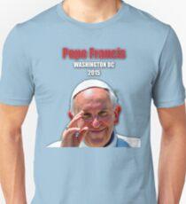 Pope Francis 2015 Wash DC Visit-close up T-Shirt
