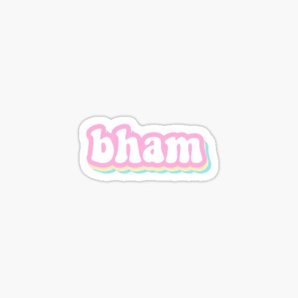 Bham Sticker Sticker
