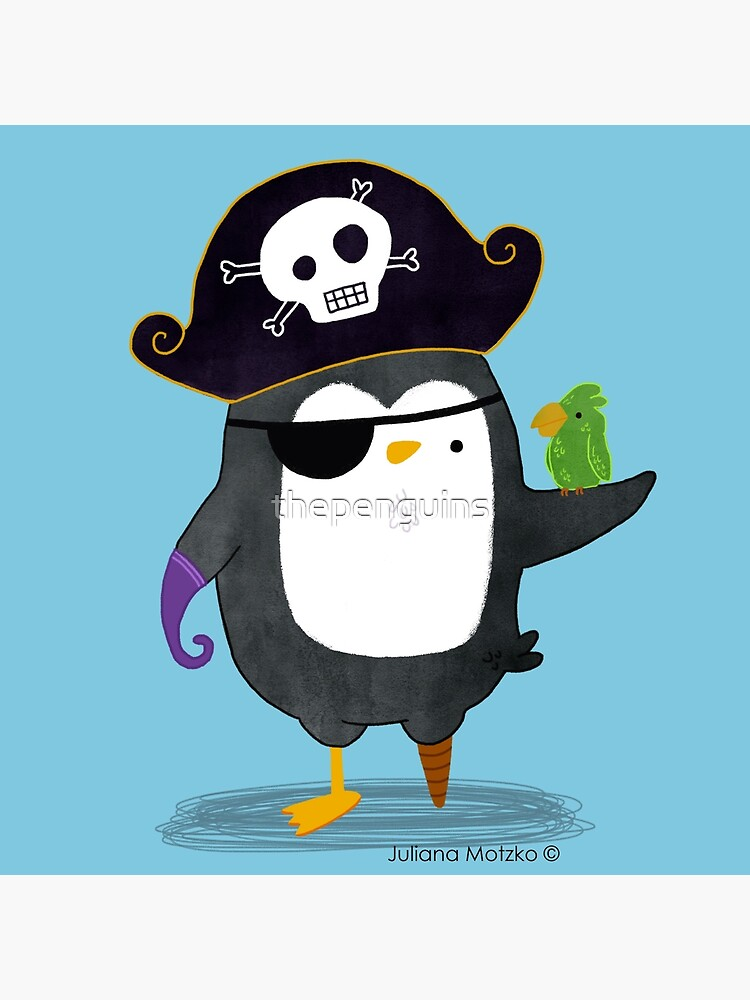 Pirate Penguin by thepenguins