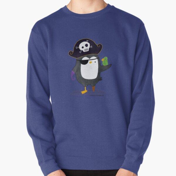 Pirate Penguin Pullover Sweatshirt