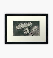 Yashica camera Framed Print