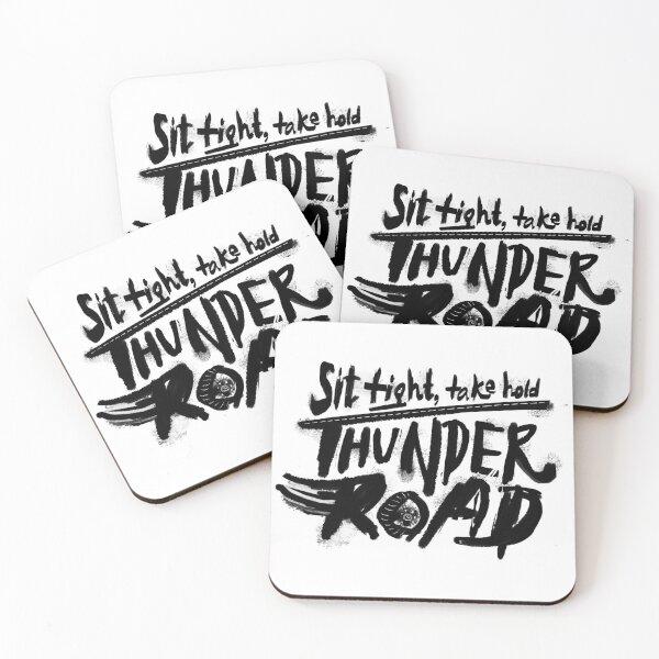 Thunder Road Coasters (Set of 4)