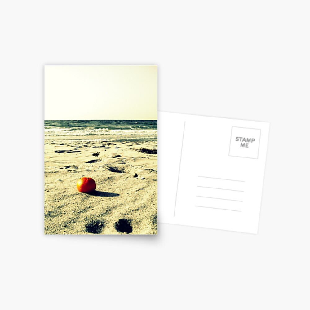 the orange and the sea Postcard